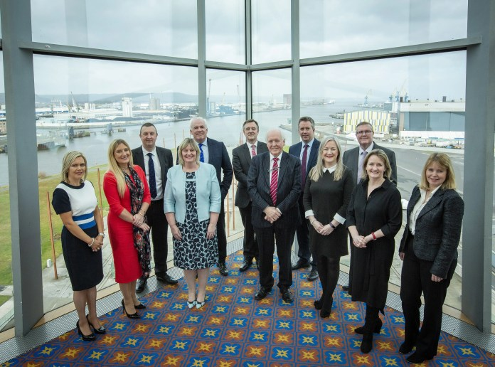 Best-performing Companies Conference & Awards - press release and photo - Titanic Belfast Awarded Ireland Excellence Award