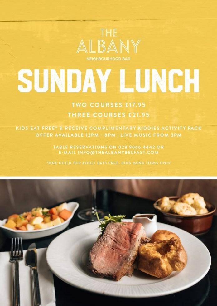 Albany Sunday Lunch