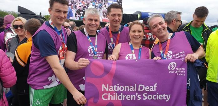 Belfast Marathon in support of the National Deaf Children's Society