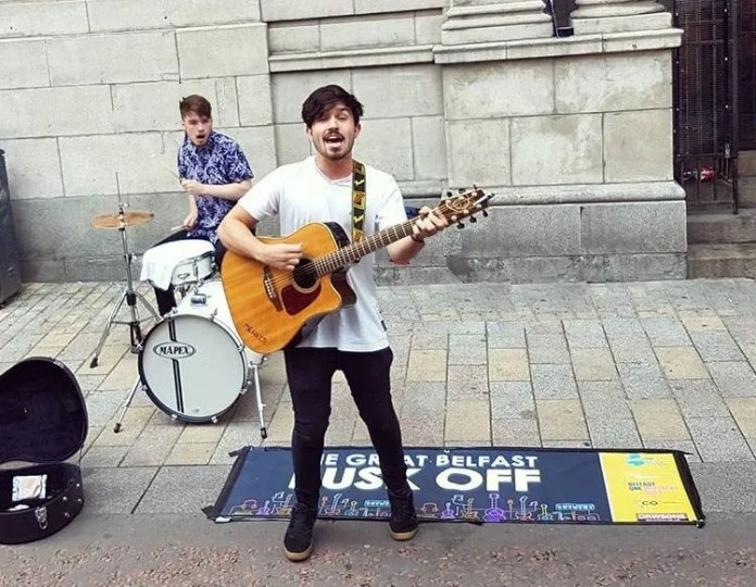 Are you the best busker in Northern Ireland?