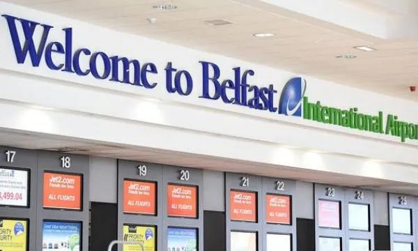 Belfast International Airport worse in UK