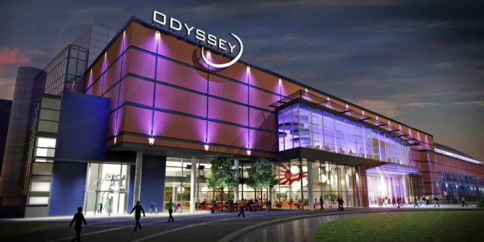 W5, CINEMA AND BOWLING REMAIN OPEN AS ODYSSEY PARTIALLY CLOSES FOR REDEVELOPMENT