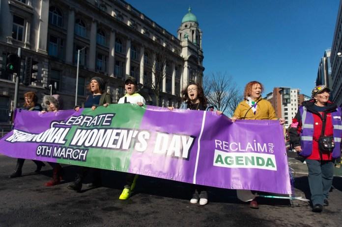 International Women's Day Rally