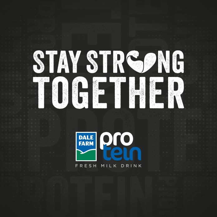Dale Farm Protein #StayStrongTogether ambassadors