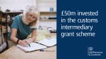 Applications open for £50 million funding to boost UK customs intermediaries