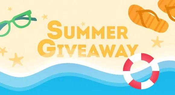 Summer giveaway