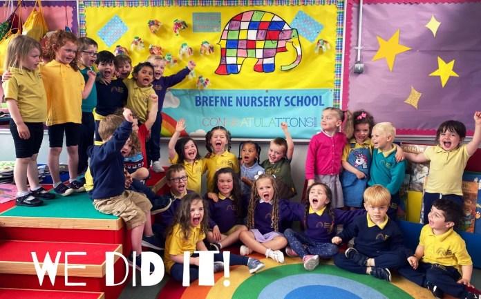 Brefne Nursery School We Did It Pic 2