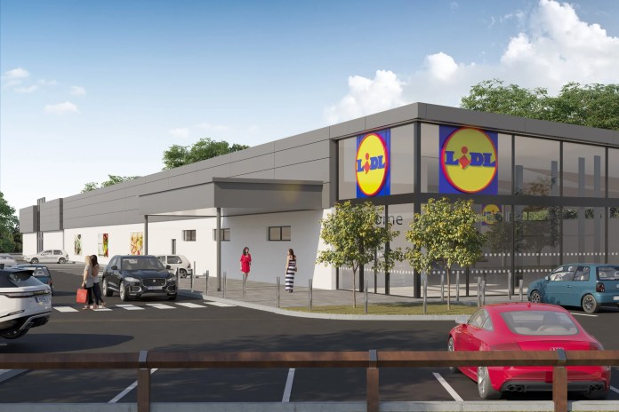 Lidl Northern Ireland cements plans to regenerate Carryduff Shopping Centre
