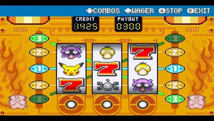 Pokémon Slot Machines