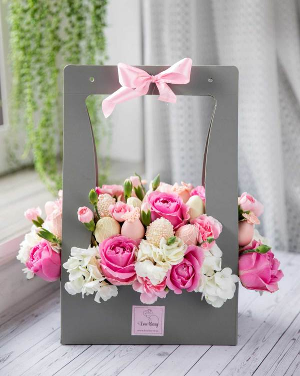 Birthday gifts in charming box