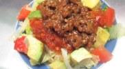 【ベジ】どう見たってひき肉!サルサソースのベジタコライス☆(レシピ付)