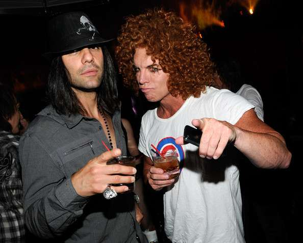Carrot Top relation