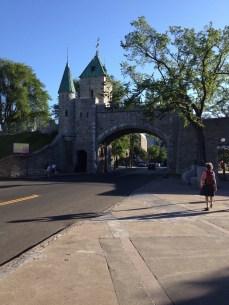 Quebec City's Porte St. Louis gate