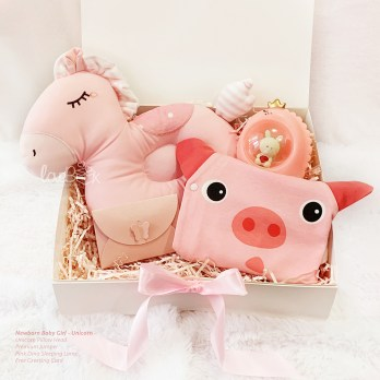 Newborn Baby Giftbox - Unicorn Sleeping Set