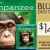 Disney's Chimpanzee on Blu-Ray Combo Pack only $14.99