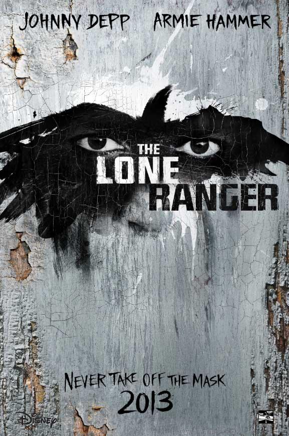 Disney's The Lone Ranger Trailer Poster