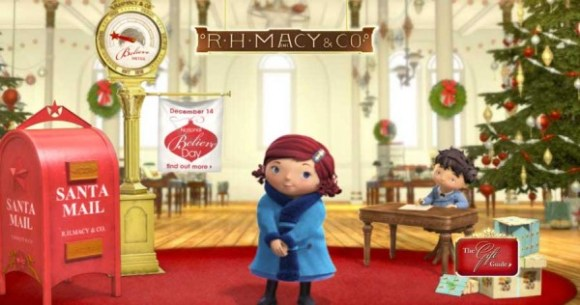 Macy's Santa Letter Mailbox Dropoff