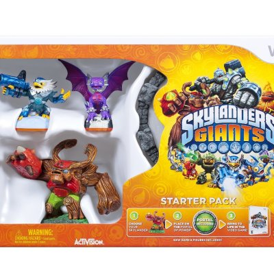 Amazon: Skylanders Giants Starter Kit only $29.00 shipped for Wii, PS3, Xbox 360, DS, and Wii U! (today only) Reg $59