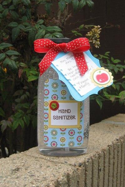Hand Sanitizer Teacher Appreciation Gift