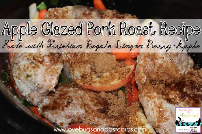 Kristian Regale juices - Apple Glazed Pork Roast Recipe