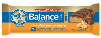 GIVEAWAY: Win a Box of the Chocolate Peanut Butter and Cookie Dough Balance Bars (ends 11/7)