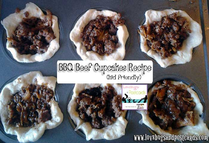 BBQ Beef Cupcakes