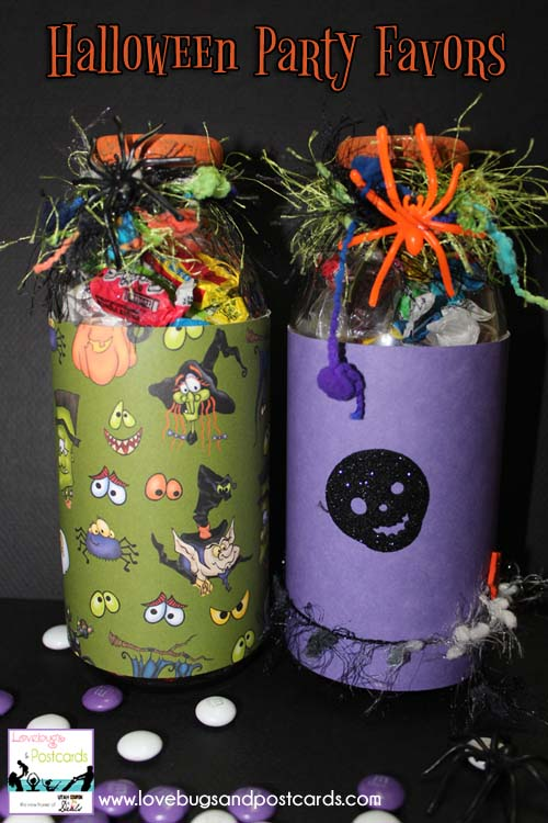 Halloween Party Favors Jars