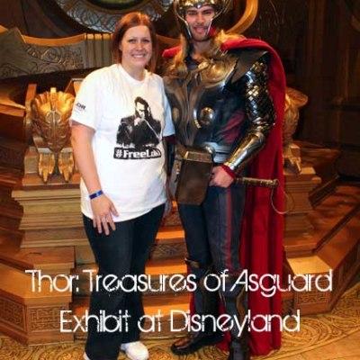 See the new Thor: Treasures of Asgard Exhibit at Disneyland. Perfect Holiday Destination! #thordarkworldevent