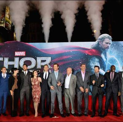 Thor: The Dark World Review and Red Carpet Premiere at the El Capitan Theater