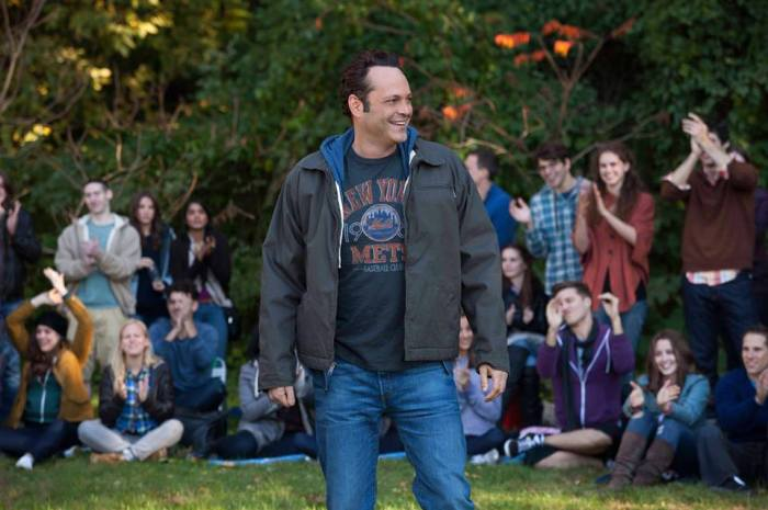 Getting to know Vince Vaughn #deliverymanevent