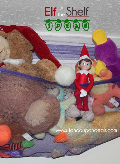 Elf on the Shelf Ideas - Hanging out with friends