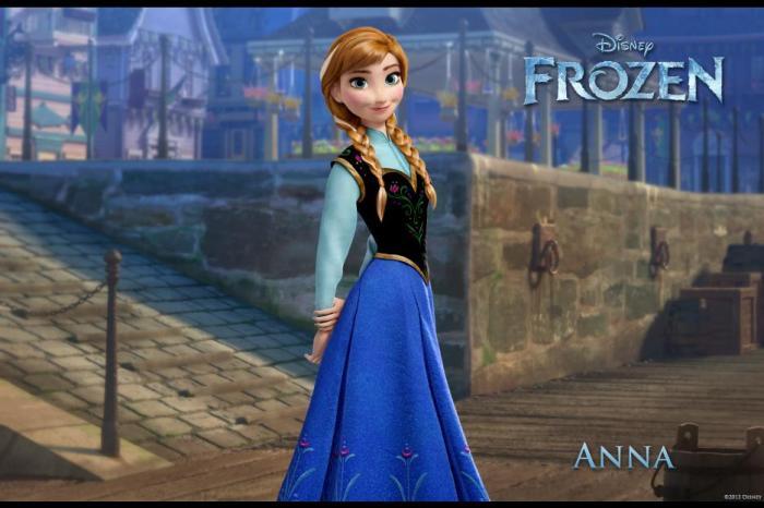 Disney's FROZEN Movie Review - Anna
