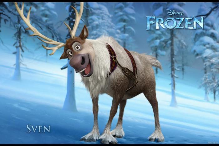 Disney's FROZEN Movie Review - Sven