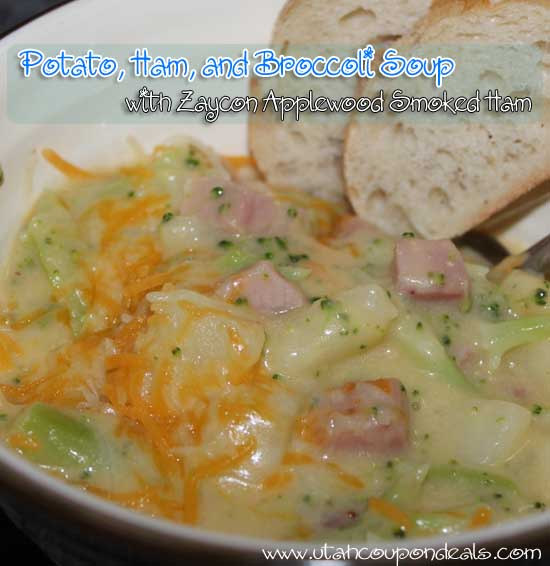 Zaycon Foods - Applewood Smoked Ham - Potato, Ham, Broccoli Soup Recipe