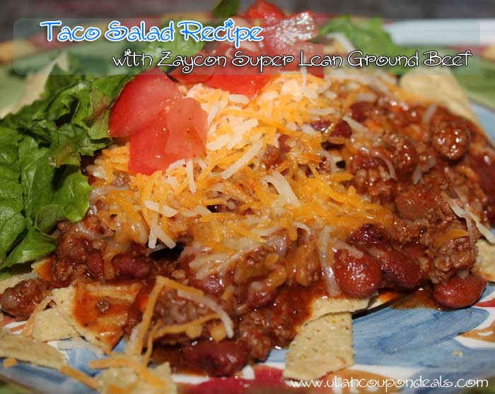Zaycon Foods - 93/7 Super Lean Ground Beef - Taco Salad