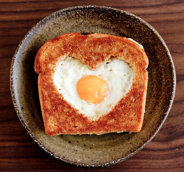 10 Valentine's Day Food & Treats - Valentine's Day Egg in the Basket