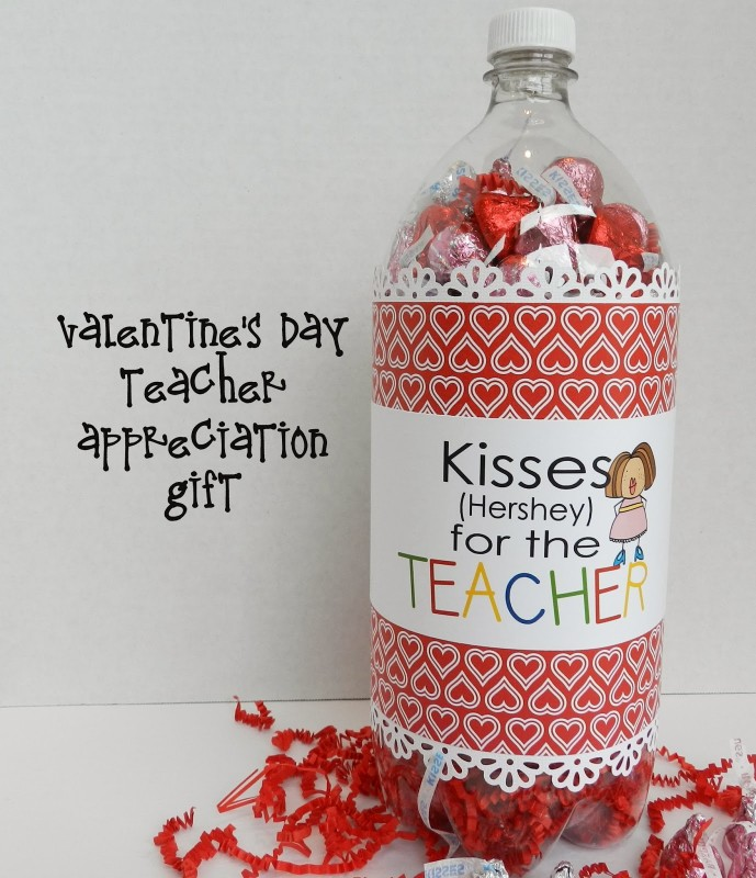 """Kisses for the Teacher"" Soda Pop Bottle Teacher Gift"