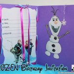 Disney's Frozen Birthday Invitation