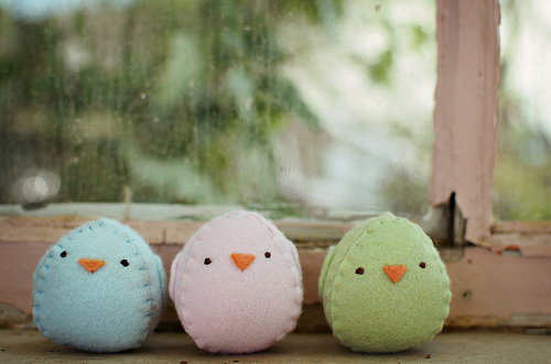 SEWN EGG CHICK TUTORIAL