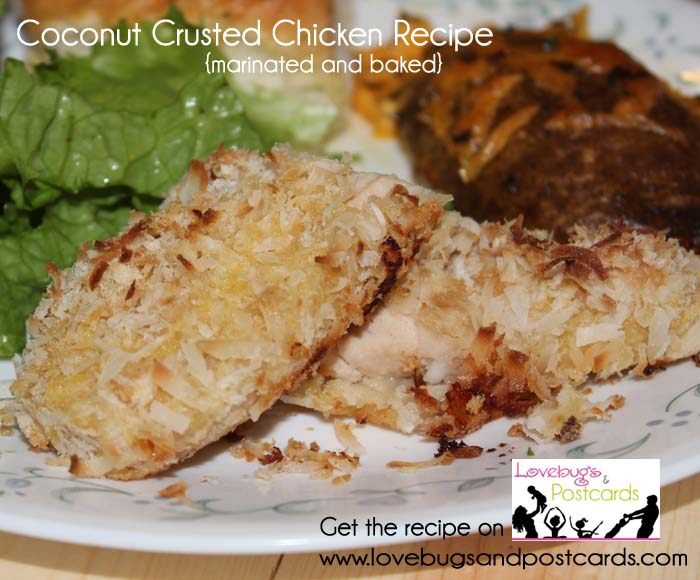 Coconut Crusted Chicken Recipe