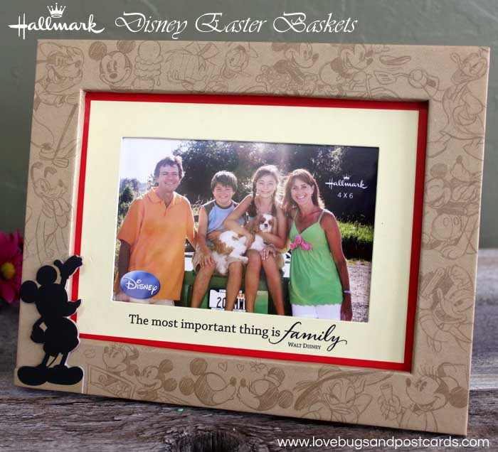 Hallmark has everything for the perfect Disney Easter Baskets - Picture Frame