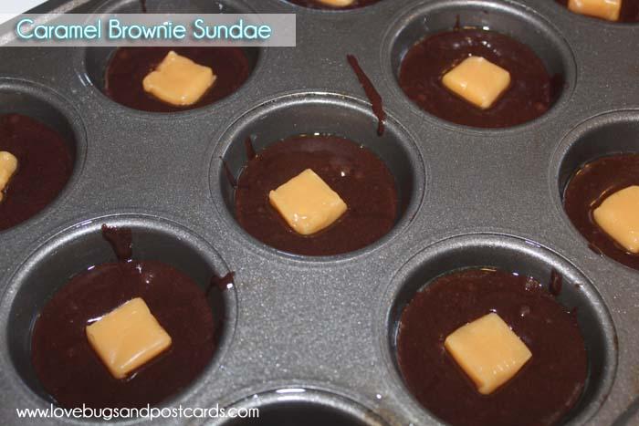 Caramel Brownie Sundae Recipe