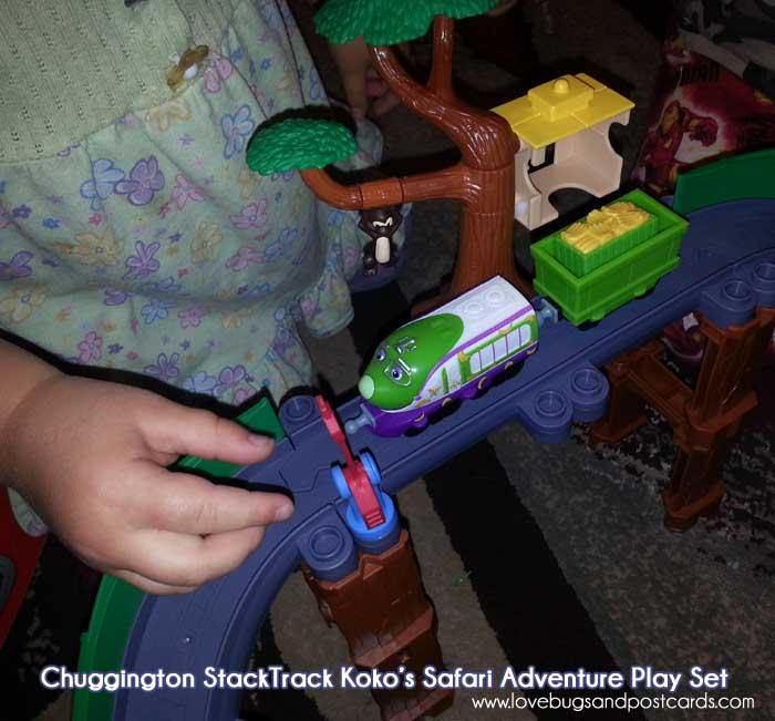 "Chuggington""Explorer Koko"" DVD and StackTrack Koko's Safari Adventure Play Set Review"