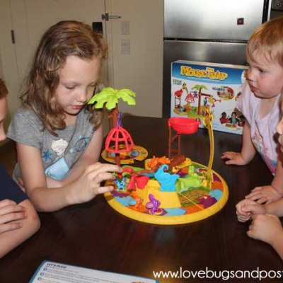 Family Game Time with Hasbro