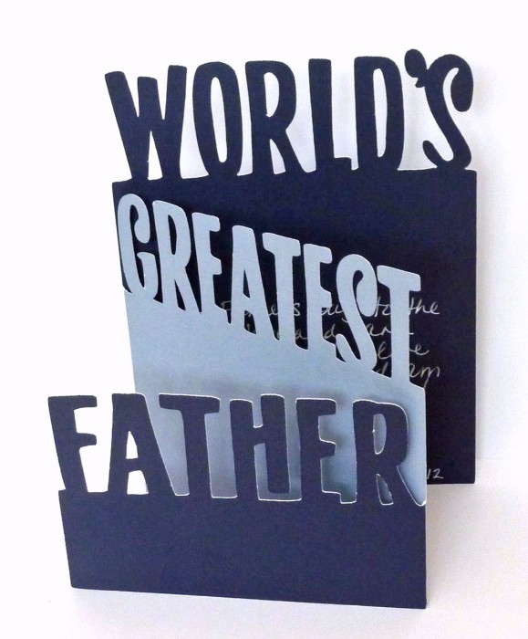 World's Greatest Father Card