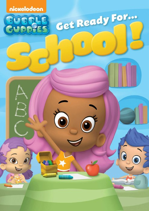 Bubbles Guppies Get Ready for School DVD