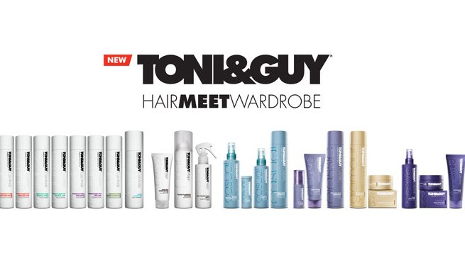 Toni & Guy Product Line