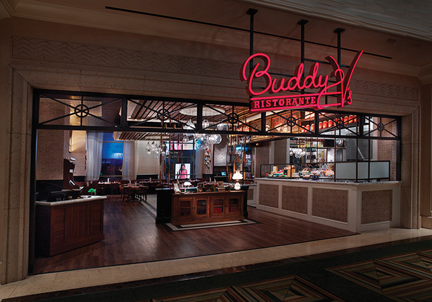 Buddy V's Ristorante at the Grand Canal Shoppes at The Venetian | The Palazzo.