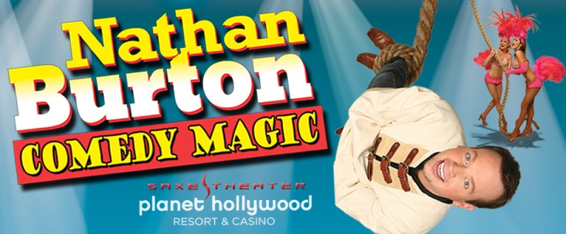 The Nathan Burton Comedy Magic Show