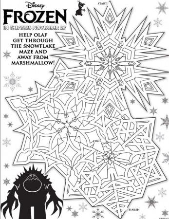 Snowflake Maze
